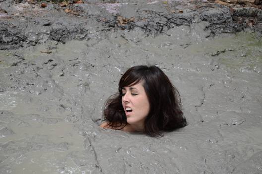 Nude girls sinking into quicksand hot girls wallpaper